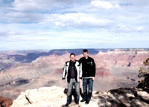 Brendon & Harry Grand Canyon