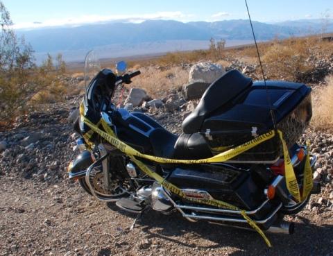 Broken down in Death Valley
