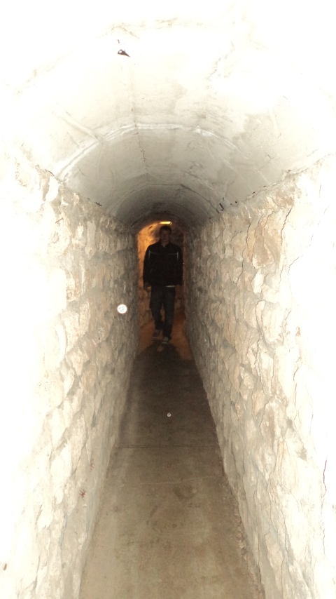 The Dalton Gang Hideout Tunnel