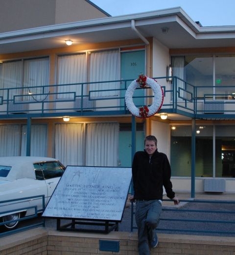 The motel where Martin LKuther King was assassinated