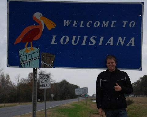 Into Louisiana